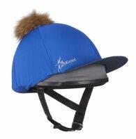 LeMieux Helmüberzug Hat Silks Benetton Blue/Navy