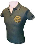 HSJV Damen Poloshirt tanne mit Logo