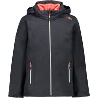 CMP Kinder G Jacket Zip Hood Detachble Inn.Jacket Antracite