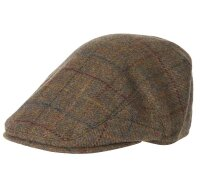 Barbour HW 20 Herren Hut Crieff Cap Brown/red/blau