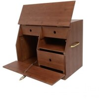 Grooming Deluxe Show Grooming Box brown 43,5 x 59,5 x32 cm