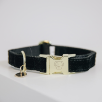 Kentucky Dogwear Hunde Halsband Corduroy black