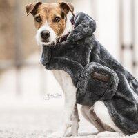 Kentucky Dogwear Hundemantel Fake Fur grey