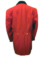 Axthelm Herren Jagdrock rot mittlere Länge