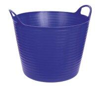 Kerbl Bucket Flexible Trough FlexBag blue