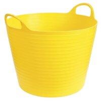 Kerbl Bucket Flexible Trough FlexBag yellow