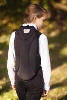 Kerbl children back protection vest ProtectoSoft black