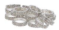 Kerbl Mähnenbänder Crystal 10 Stück...