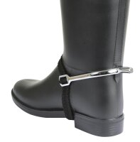 Kerbl spurs with spur strap ladies in pairs 15 mm