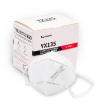 Respirator FFP2 CE2834 certified 5-pack