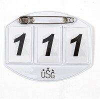 USG Startnummer 3-stellig faltbar große...