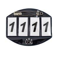 USG Startnummer 4-stellig faltbar große...