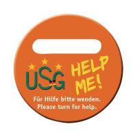 USG usg-help-me safety plate