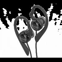 peiker CEE Ceecoach - Stereo headset with earhook black