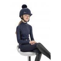LeMieux Helmüberzug Young Rider Hat Silk Indigo