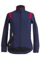 Helite Airbagjacke Airshell-Jacke ohne Airbag blau/rot