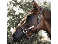 Kentucky Horsewear Lederhalfter Anatomic suede braun
