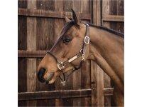 Kentucky Horsewear Lederhalfter Rope