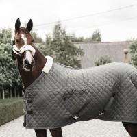 Kentucky Horsewear Stalldecke 400g grün/grau