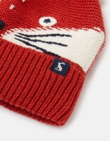 Joules Mütze Chummy Hat Character Knitted Hat Fox Face