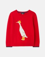 Joules Mädchen Pullover Miranda Artwork Knitted...