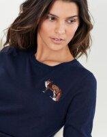 Joules Damen Pullover Tina Embellished Crew Neck Jumper...
