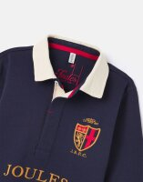 Joules Jungen Rugby Shirt Union 1-12 Years French Navy