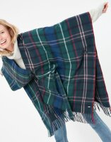 Joules Damen Schaltuch Janey Blanket Scarf Navy Mutli Check