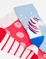Joules Mädchen Socken Brilliant Bamboo 3 Pack