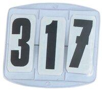 Busse Startnummern ECKIG, 3-stellig