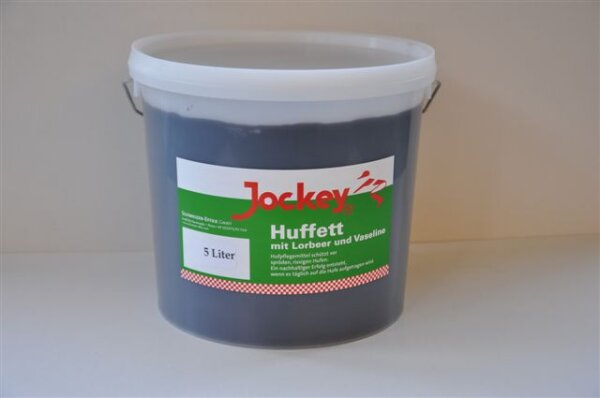 Jockey-Huffett schwarz 5 l